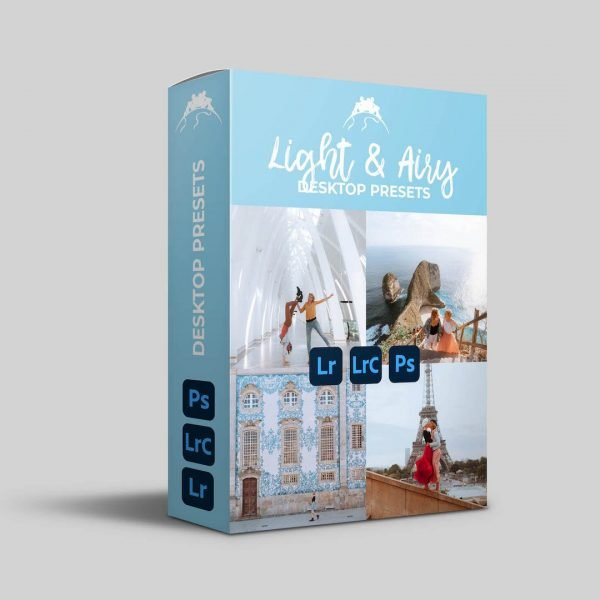 light and airy presets desktop