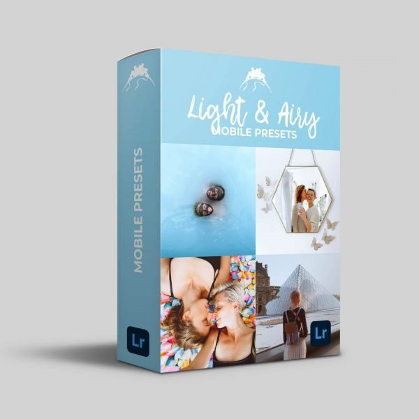 light and airy presets mobile