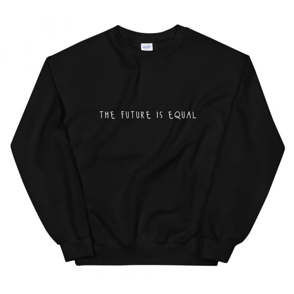 The Future is Equal sweater black